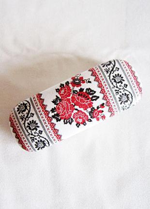 Очечник, футляр для очков (декупаж) в украинском стиле