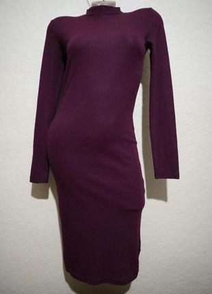 Платье миди h&m размер s