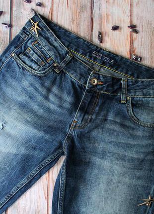 Джинсы свободного кроя zara брюки карго спортивные штаны слоучи клеш бананы