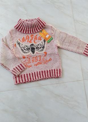 Свитшот свитер вязанный на зиму