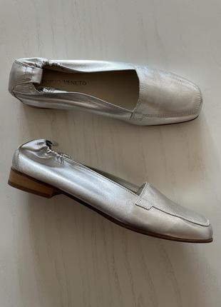 Emporio veneto,италия,кожаные туфли/балетки,ручная работа