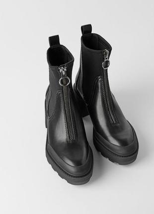 Нереальные ботинки zara