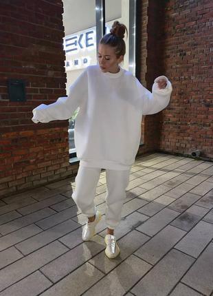 Базовый спортивный костюм с удлиненным худи 118