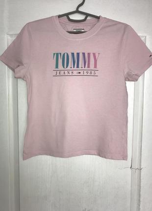Женская футболка tommy hilfiger оригинал