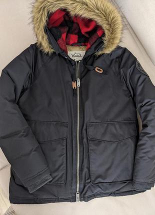 Куртка пуховик woolrich