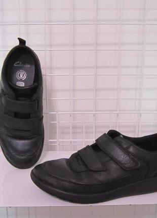 Кросівки туфлі clarks р.37, 4f,стелька 24см