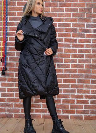 Куртка женская цвет черный