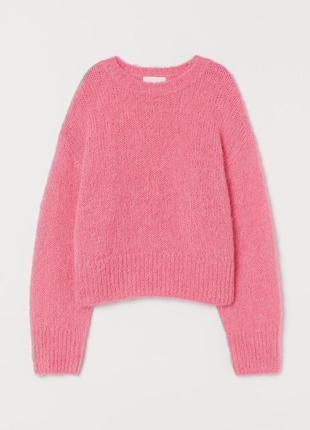 - теплый свитерт h&m р m/ l