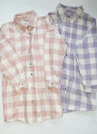 Трендова тепла рубашка