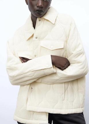 Куртка-рубашка осень -весна zara / куртка zara