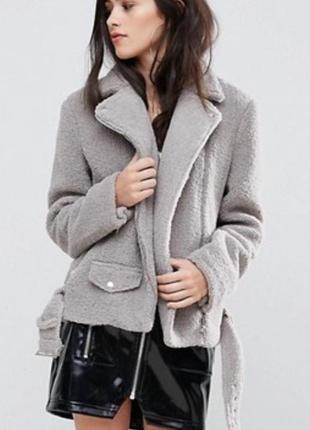 Missguided куртка/дубленка /косуха «барашек»