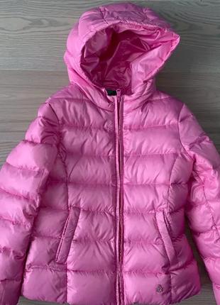 Шикарная куртка пуховик benetton