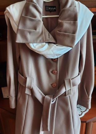 Жіноче пальто батал