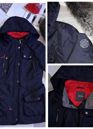 Taifun бомбезная деми куртка ветровка р 36 .не промокает