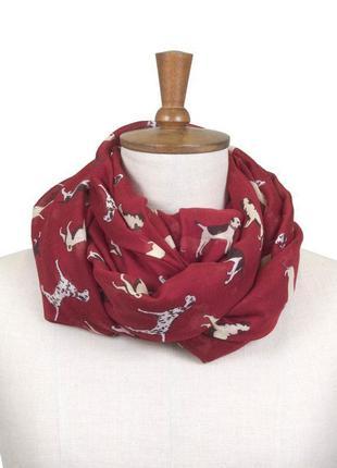 Легкий большой шарф toggi