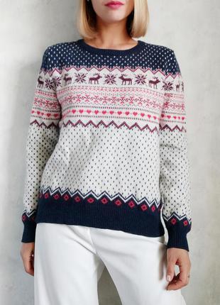 Базовый шерстяной свитер atmosphere