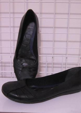 Туфлі балетки clarks (вєтнам) р.5, стелька 24.5см
