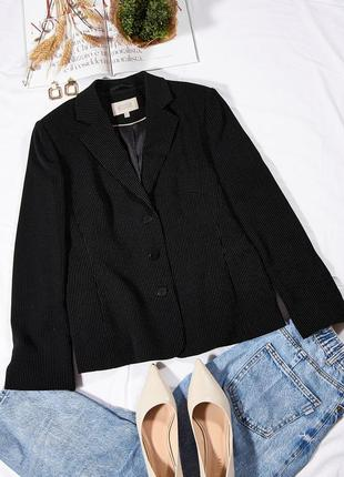 Классический пиджак, женский пиджак в полоску, модный пиджак коричневый