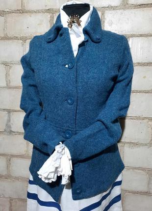 Винтаж жакет пиджак кофта шерстяная премиум