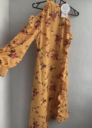 Плаття в квіточки na-kd