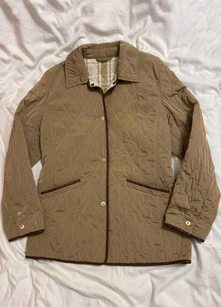 Куртка стеганая бежевая basler