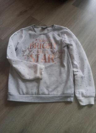 Серый теплый свитер waikiki