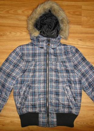 Зимняя куртка на девочку /мальчика р.140 (на 9-10 лет) фирмы okay, германия унисекс