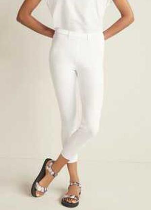 Белые леггинсы как джеггинсы 14/48-50 размера