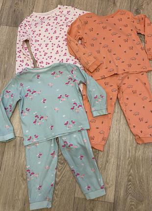 Пижамы george 2-3 года