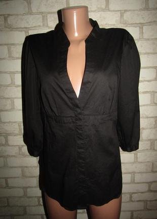 Рубашка р-р 16-18 стрейч h&m