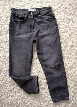 Шикарные женские рваные джинсы next 40 (12) в новом состоянии