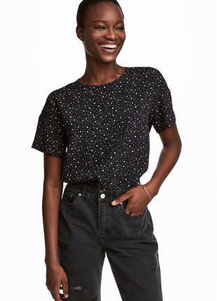 Блузка с коротким рукавом h&m