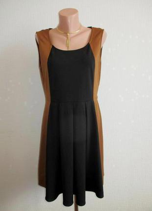 Sale -50%! двухцветное платье cushh