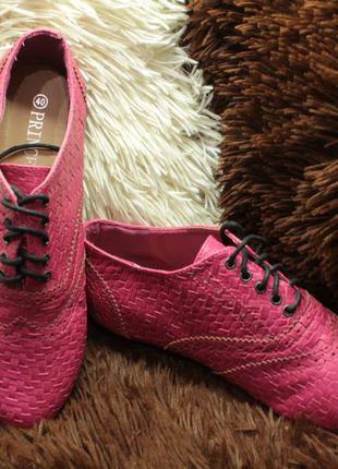 Розовые туфли 38 размер