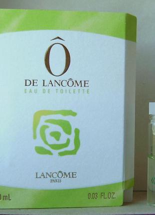 Пробник - lancome o de lancome - edt - 1 мл. оригінал. вінтаж