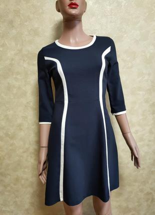 Мини платье в спортивном стиле с брендовой нашивкой на спине philip plein