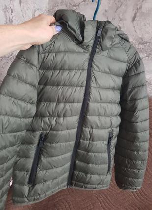 Куртка пуховик осень-весна mckinley р.146см.