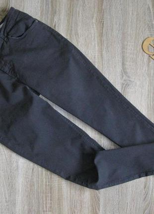 Джинсы slim fit серые ткань стрейч  eur 40-42