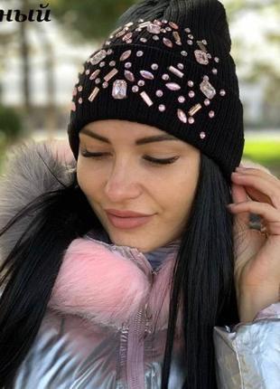 🍂 стильная женская шапочка шапка 👌