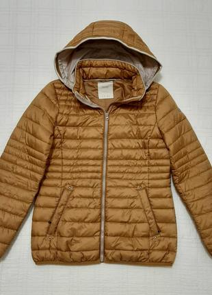 Стеганая куртка пуховик esprit р. 46-48 (м/l) тинсулейт