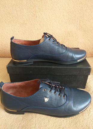 Отличные кожаные туфли 40