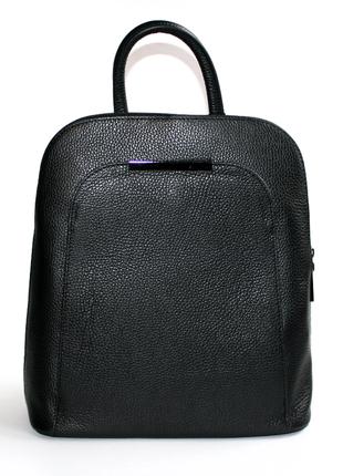 Городской рюкзак leather country италия, оригинал. натуральная кожа.
