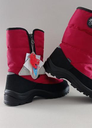 Фирменные оригинал зимние теплые овчина сапоги ботинки термо