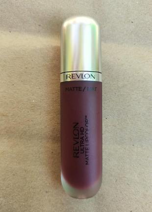 Revlon ultra hd matte lip color 675 infautation матовая помада