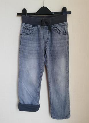 Джинсы на подкладке gymboree 5 лет утепленные джимбори с трикотажной подкладкой штаны