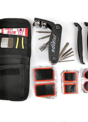 Ремкомплект для велосипеда набор инструментов