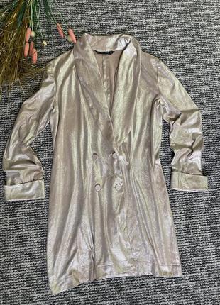 Шикарное платье блейзер