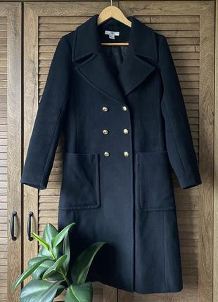 Классическое пальто длины миди