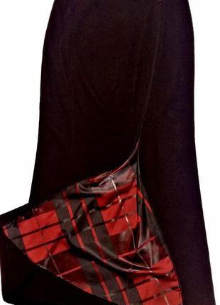 Шерстяная юбка макси blacky dress berlin /2650/