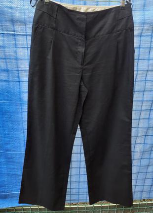 Брюки штаны классика классические натуральные лен льняные широкие деловые офисные